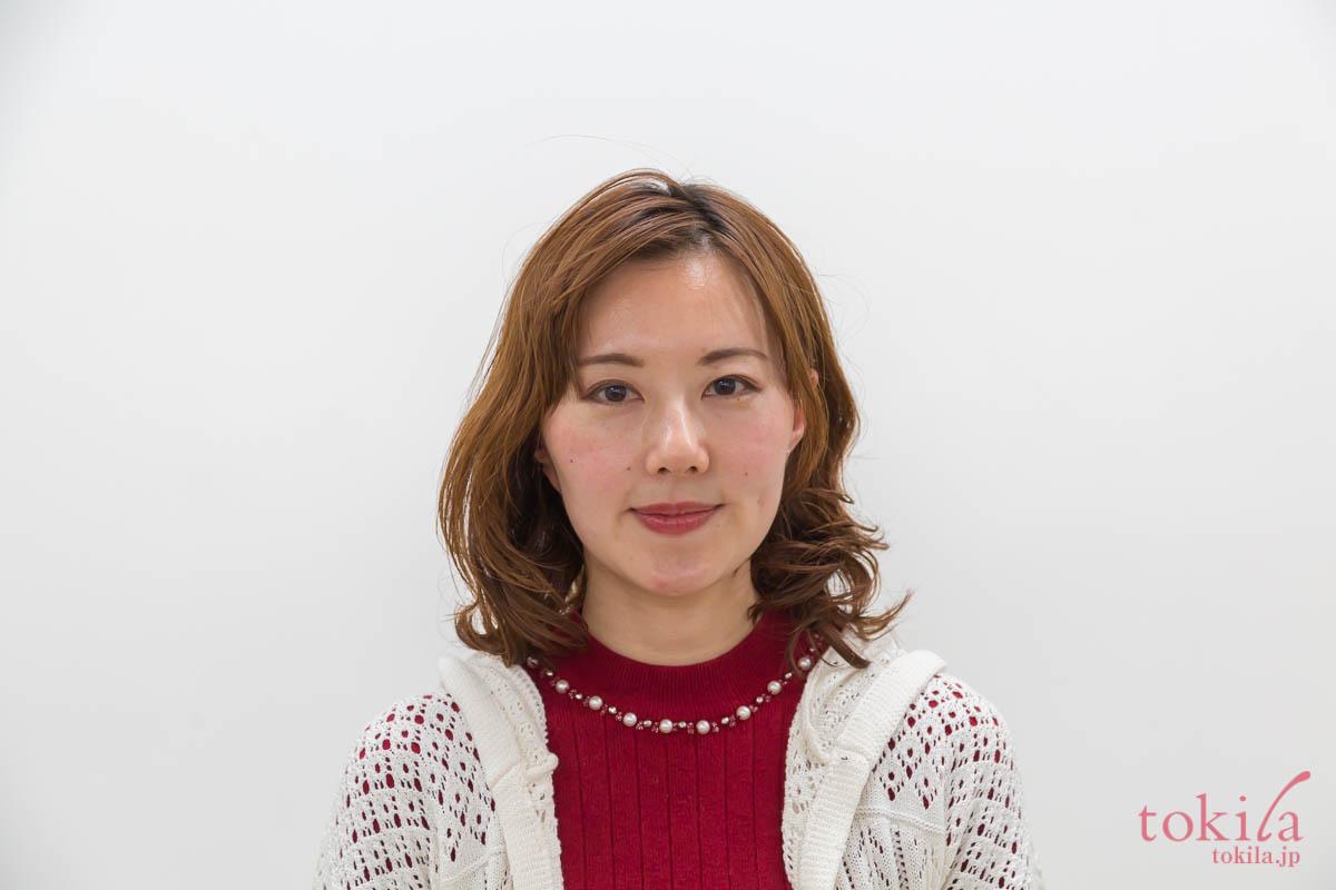 キャラバン日記パート2 リノ クロノシャルディ田中さんによるスタイリングデモ 浅葱さんafter